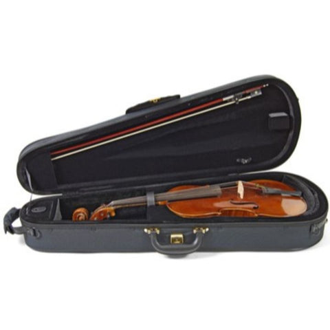 Black Superlight Shaped Viola Case - Interior