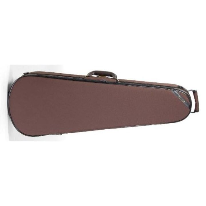 Superlight Shaped Brown Viola Case - Front