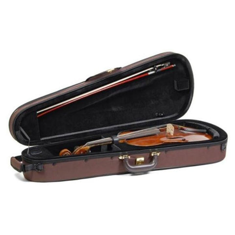Superlight Shaped Brown Viola Case - Interior