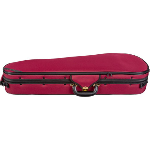Image of Super Light Red Shaped Viola Case - Side