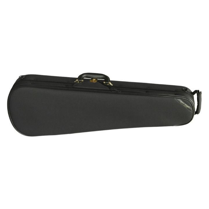 Super Light Shaped Black Violin Case - Front