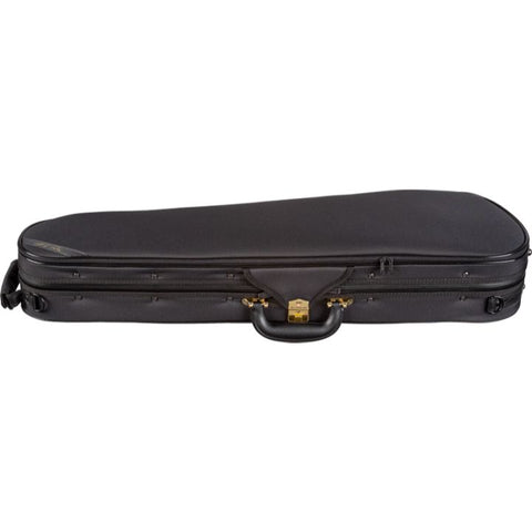 Super Light Shaped Black Violin Case - Side