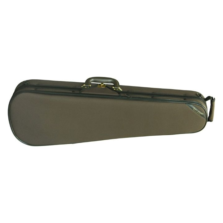 Superlight Shaped Brown Violin Case - Front