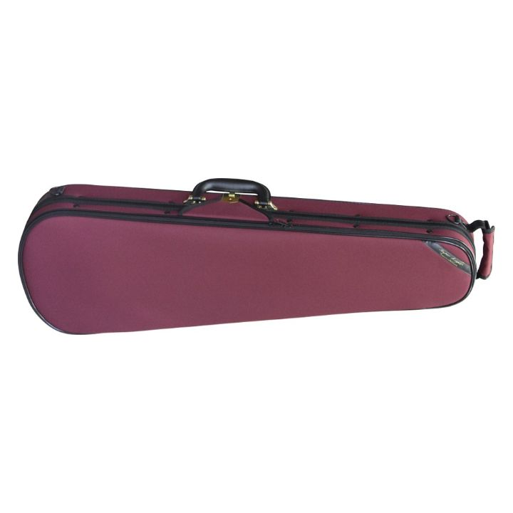 Superlight Shaped Red Violin Case- Front