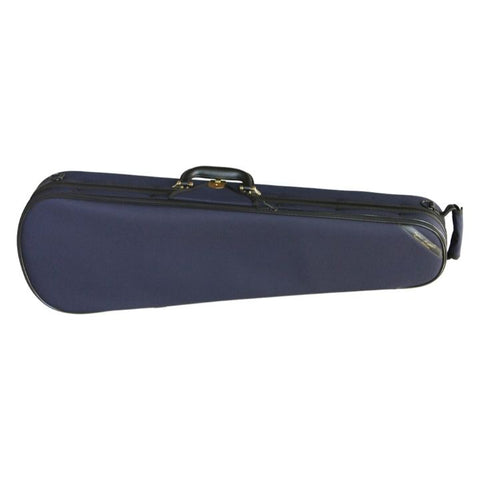 Superlight Shaped Dark Blue Violin Case - Front
