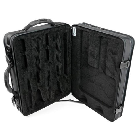 Image of 2 BbA Clarinets case Black