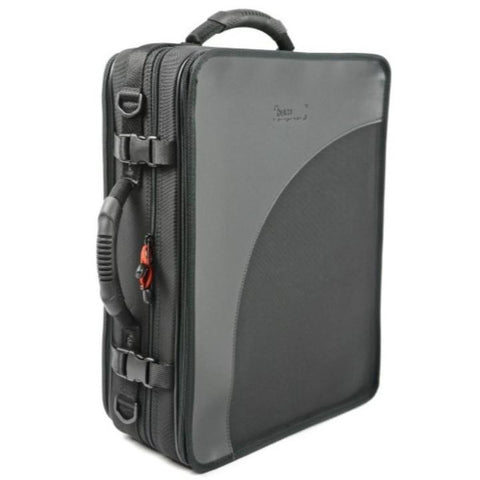 2 BbA Clarinets case Black