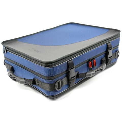 Image of  2 BbA Clarinets case Navy Blue
