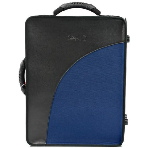 2 BbA Clarinets case Navy Blue