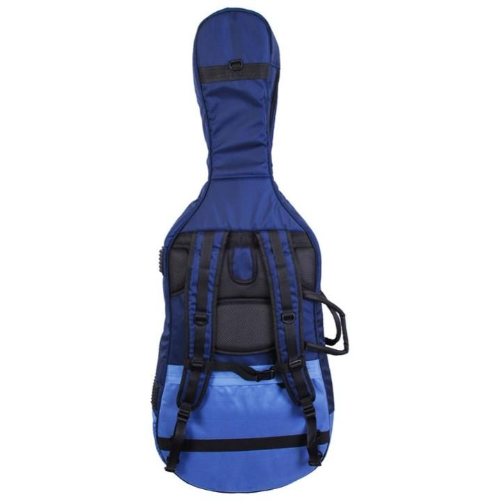 Blue Soft Cello Case