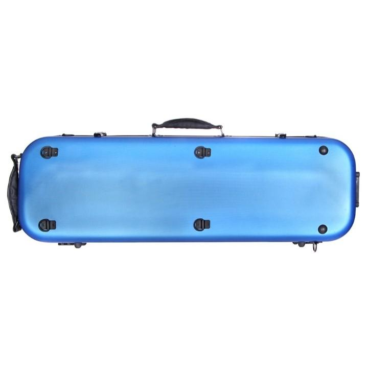 Blue Fiberglass Violin Case