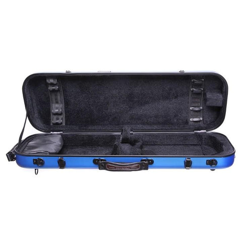 Image of Blue Fiberglass Violin Case