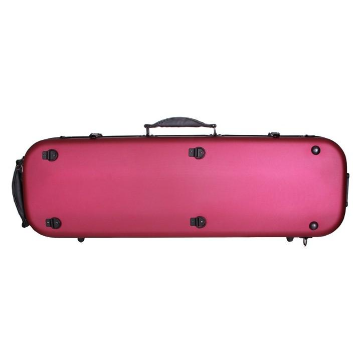 Red Fiberglass Violin Case
