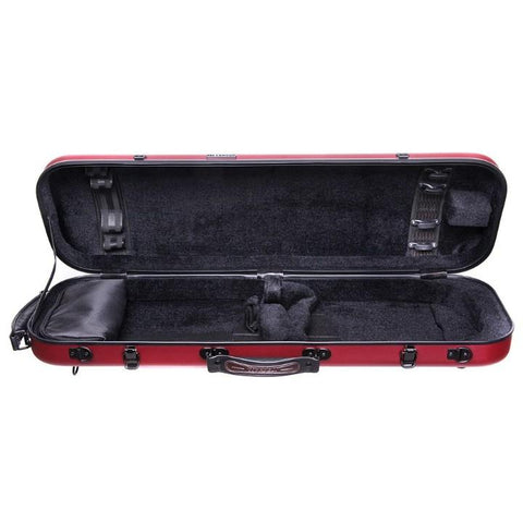 Image of Red Fiberglass Violin Case