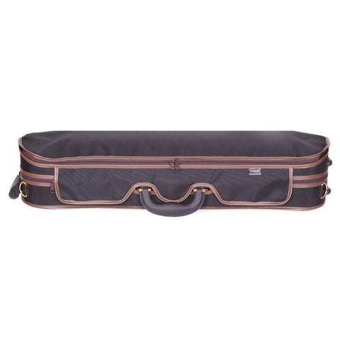 Image of Tonareli Deluxe Violin Case - Olive Interior