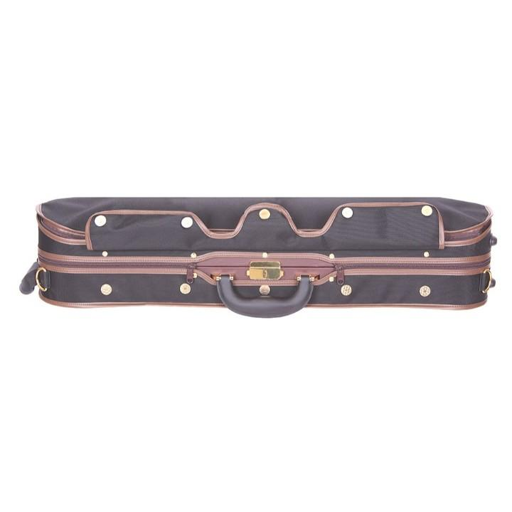 black/red Tonareli Violin Case