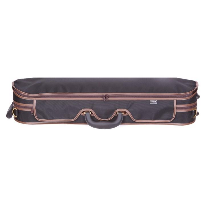 Tonareli Deluxe Violin Case - Red Interior