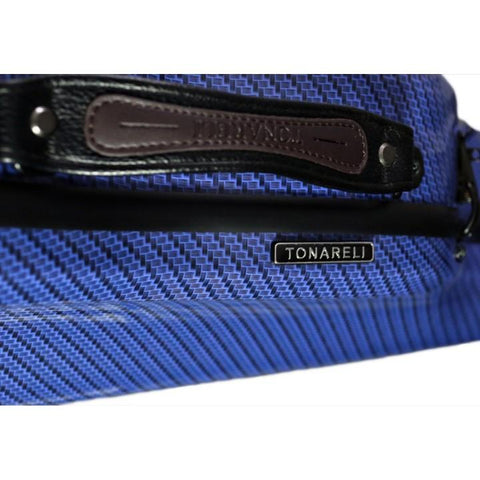 Image of blue fiberglass viola case