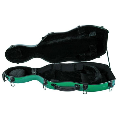 Image of Green Fiberglass Viola Case