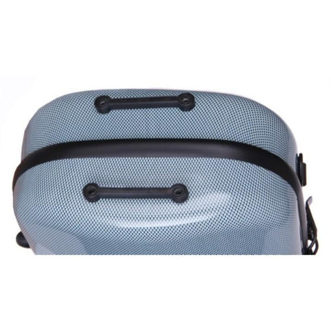 Fiberglass Violin Case Blue