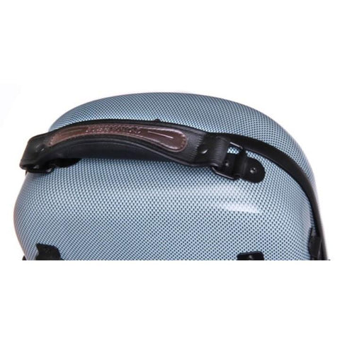 Image of Tonareli Oblong Fiberglass Violin Case Blue Graphite