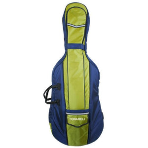 Green Soft Cello Case