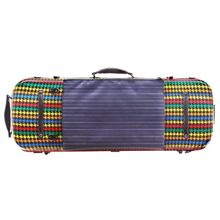 colorful Fiberglass Viola Case
