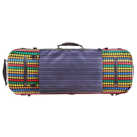 Image of colorful Fiberglass Viola Case