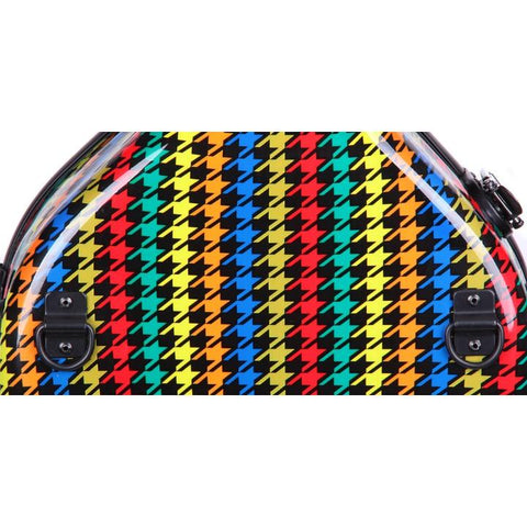 colorful adjustable viola case