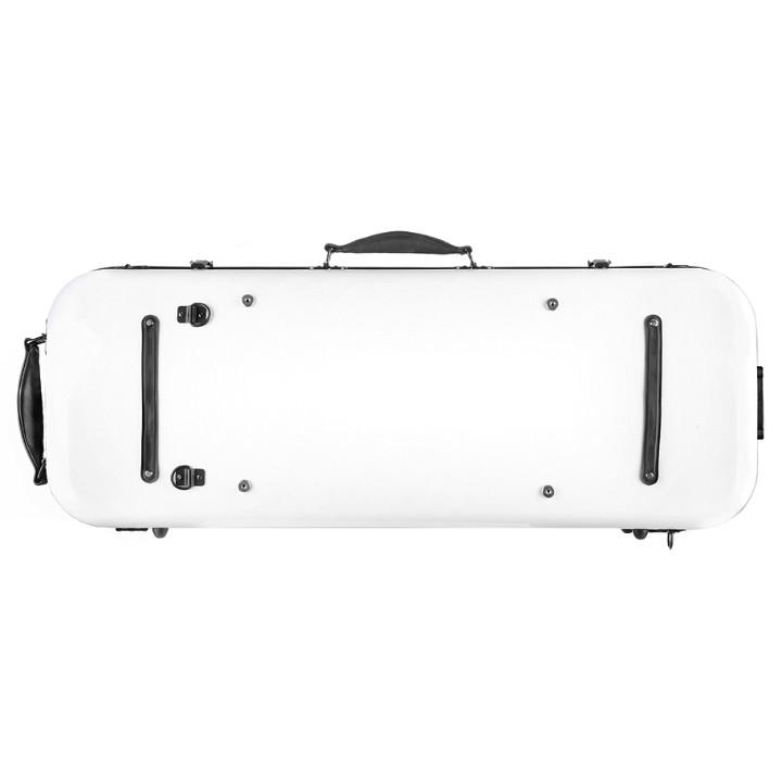 White Oblong Viola Case