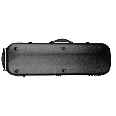 Image of Fiberglass Violin Case Black