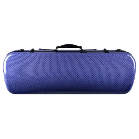 Image of blue adjustable viola case