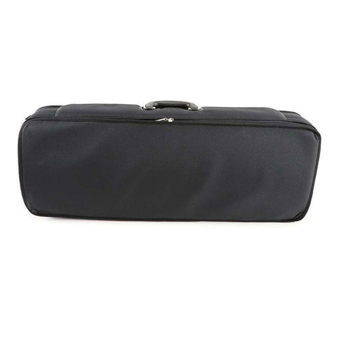 Image of Handmade Oblong Viola Case Black/Red Interior