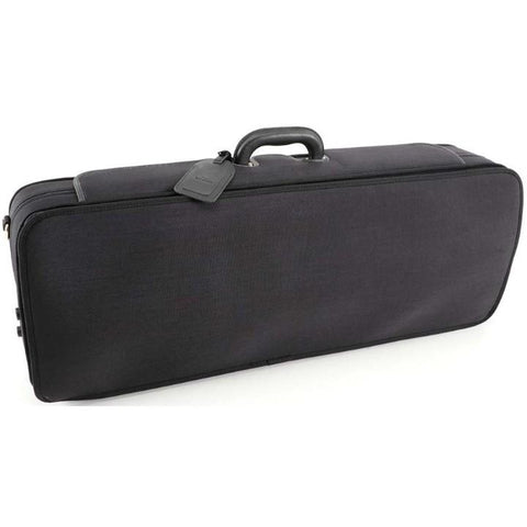 Handmade Exclusive Oblong Viola Case Black/Red Interior