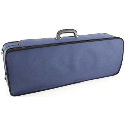 Handmade Oblong Viola Case Blue/Blue Interior