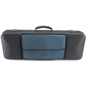 Jakob Winter Greenline Classic Oblong Viola Case Black/Petrol
