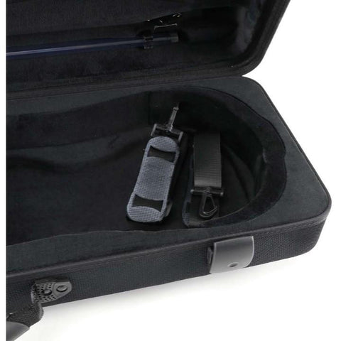 Jakob Winter Greenline Classic Oblong Viola Case Black