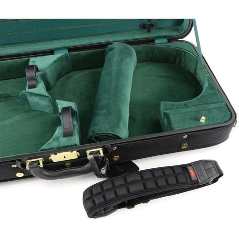 Image of Jakob Winter Handmade Exclusive Viola and Violin Case Green