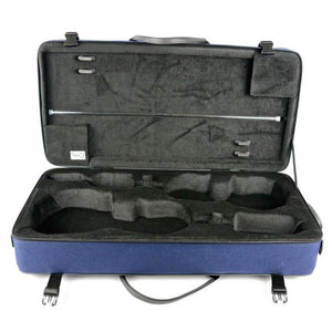 Bam Classic Violin and Viola Double Case Blue