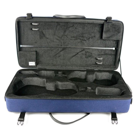 navy blue bam violin and viola case