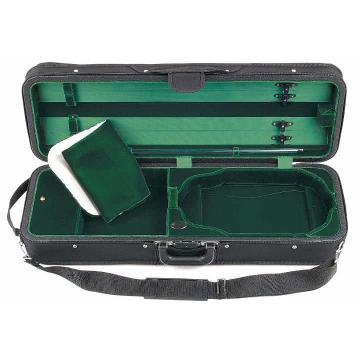 Bobelock Green 1003 Featherlite Oblong Suspension Violin Case - Interior
