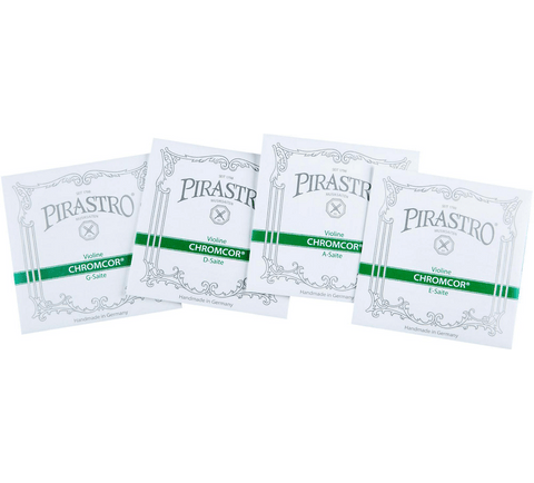 Pirastro Chromcor Series Violin String Set 4/4 size