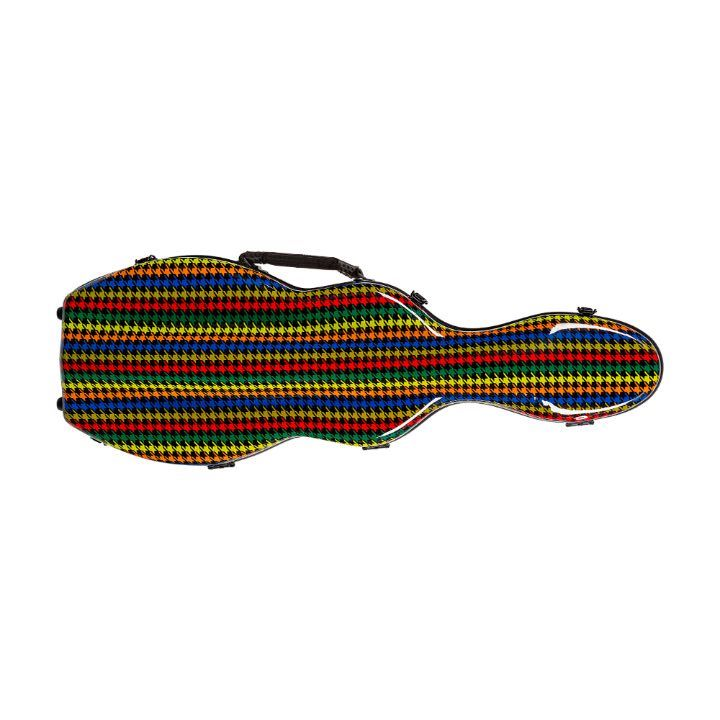 colorful violin case