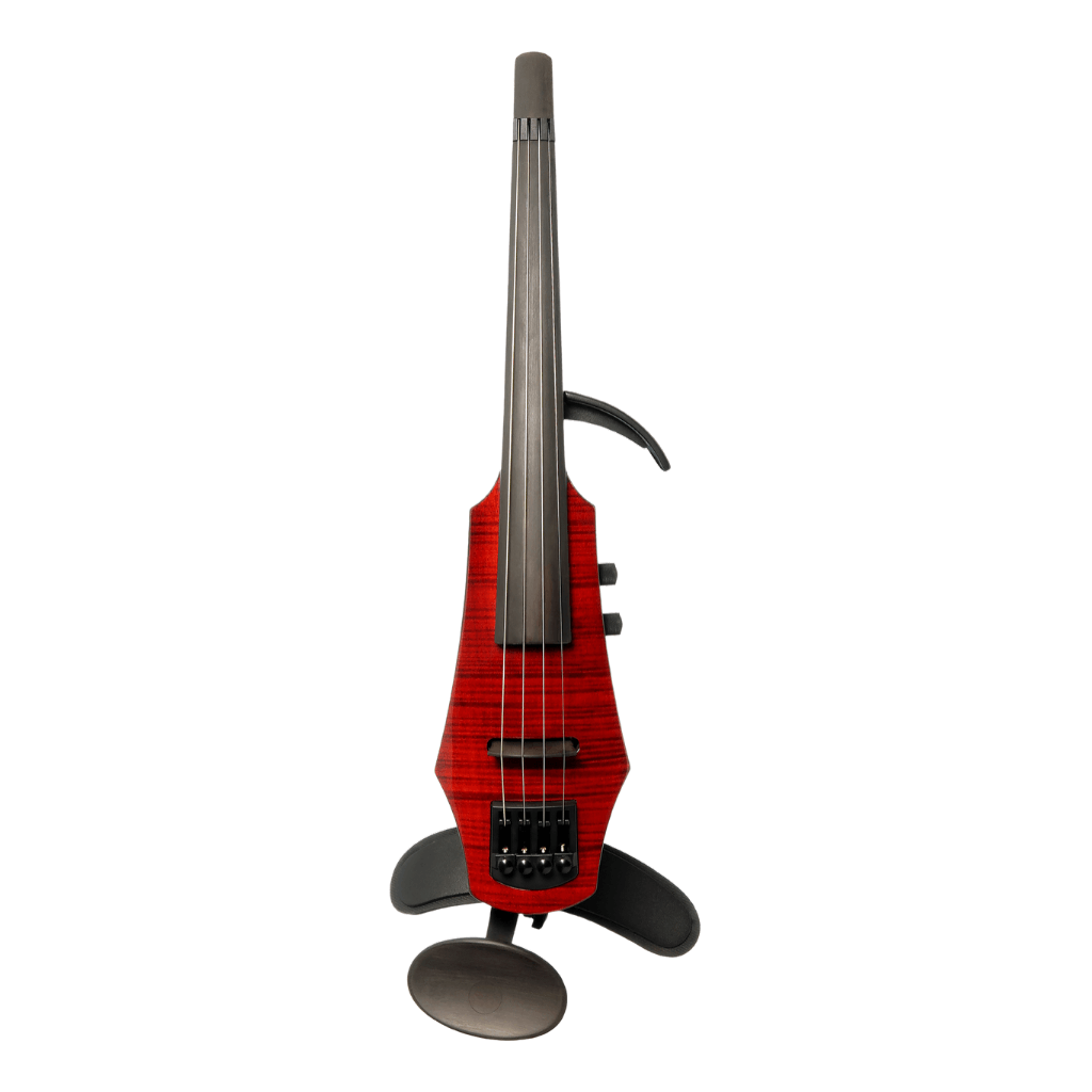 cool red electric violin