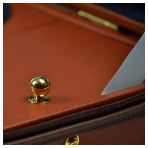 Image of Negri Diplomat Blue Violin Case