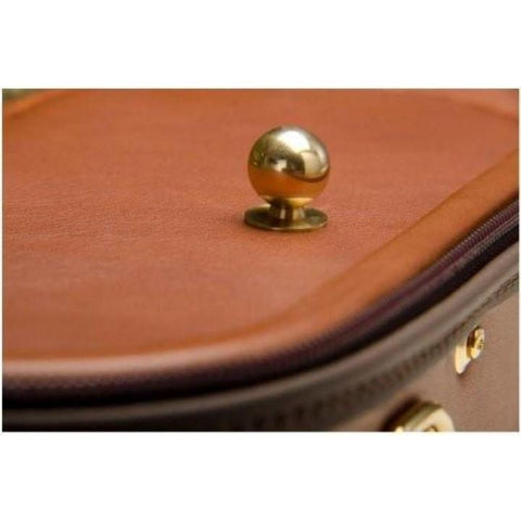 Image of Negri Diplomat Olive Green Violin Case