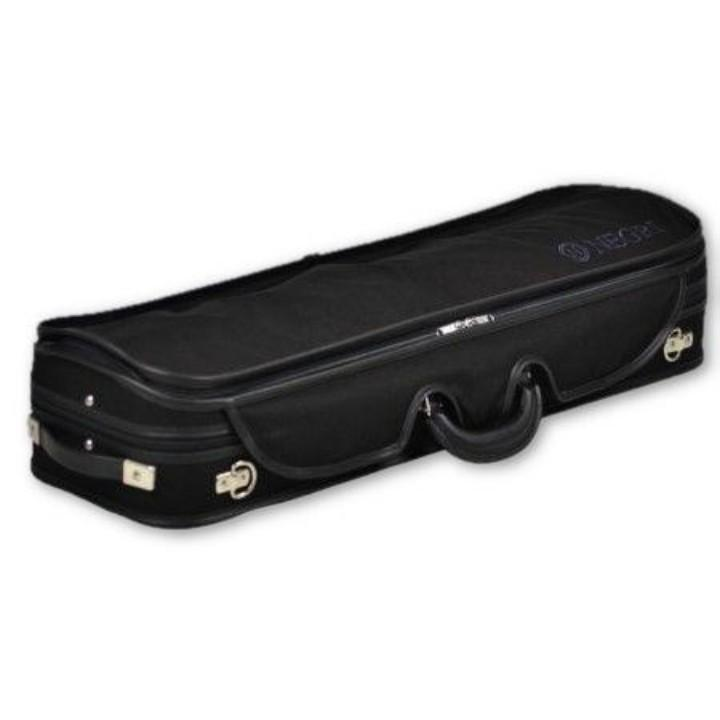 Negri Venezia Blue Oblong Violin Case - Cover