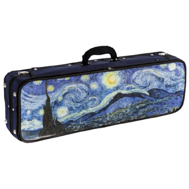 Howard Core Impressionist Violin Case Starry Night