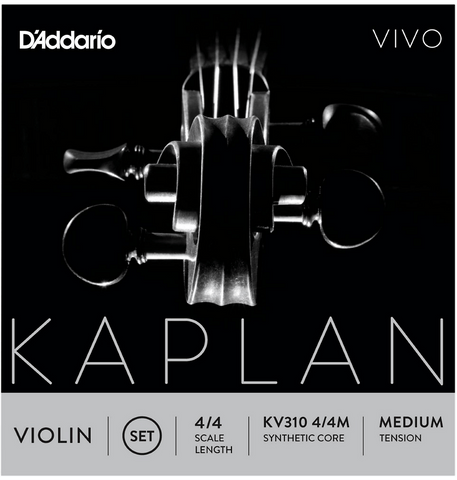 D'addario Kaplan Vivo Violin Strings