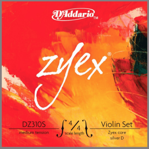 D'Addario Zyex Series Violin Strings